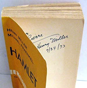 Hamlet: Henry Miller and Michael Fraenkel