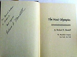 The Nazi Olympics: Mandell, Richard D.