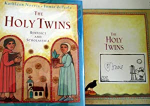 The Holy Twins: Benedict and Scholastica: Norris, Kathleen; dePaola, Tomie [Illustrator]