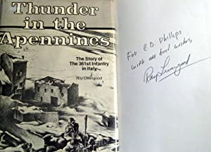 Thunder in the Apennines: The story of the 361st Infantry Regiment in Italy: Livengood, Roy