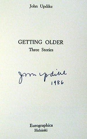 Getting Older: Updike, John