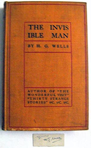 The Invisible Man: a Grotesque Romance: Wells, H. G.