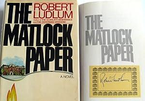The Matlock Paper: Robert Ludlum