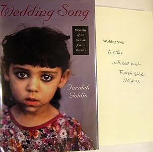 Wedding Song: Memoirs of an Iranian Jewish Woman (HBI Series on Jewish Women): Goldin, Farideh