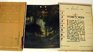 Sunlit Road Calendar (1922)