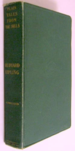 Plain Tales from the Hills: Kipling, Rudyard