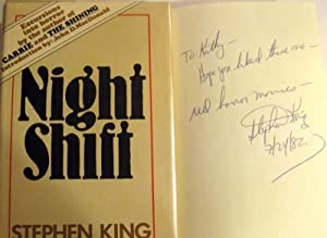 Night Shift by Stephen King, Signed - AbeBooks