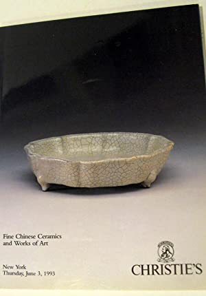 Fine Chinese Ceramics and Works of Art: Christie's