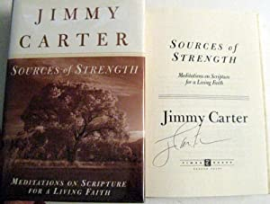 Sources of Strength: Meditations on Scripture for: Carter, Jimmy