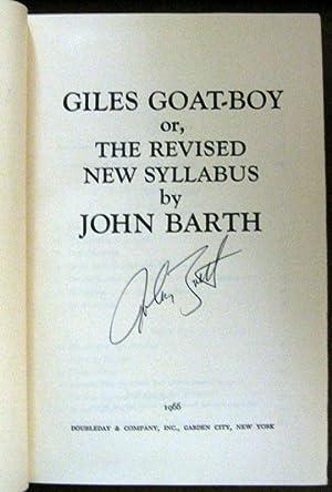 Giles Goat-Boy: John Barth