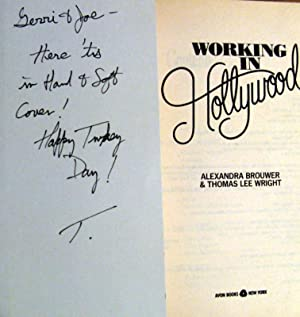 Working in Hollywood: Alexandra Brouwer; Thomas
