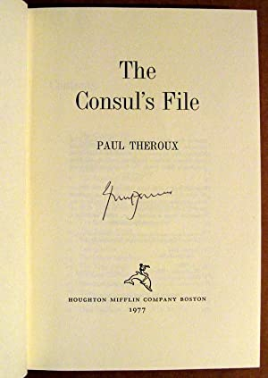 The Consul's File: Paul Theroux