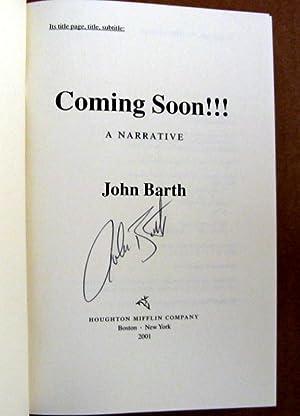 Coming Soon!!!: John Barth