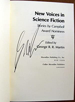 New Voices in Science Fiction: Editor-George R.R. Martin