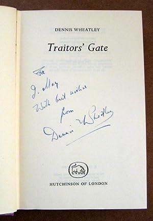 Traitors' Gate: Dennis. Wheatley
