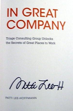 Patti Lee-Hoffmann: In Great Company: Patti Lee-Hoffman