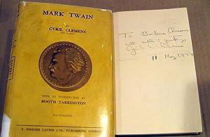Mark Twain: Cyril Clemens; Introduction by Booth Tarkington