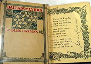 Ballads and Lyrics: Carman, Bliss