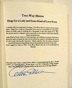 Two Way Mirror, a double-bill of Elegy: Arthur Miller