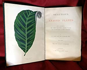 Beautiful Leaved Plants, Being a Description of the Most Beautiful Leaved Plants in Cultivation in ...