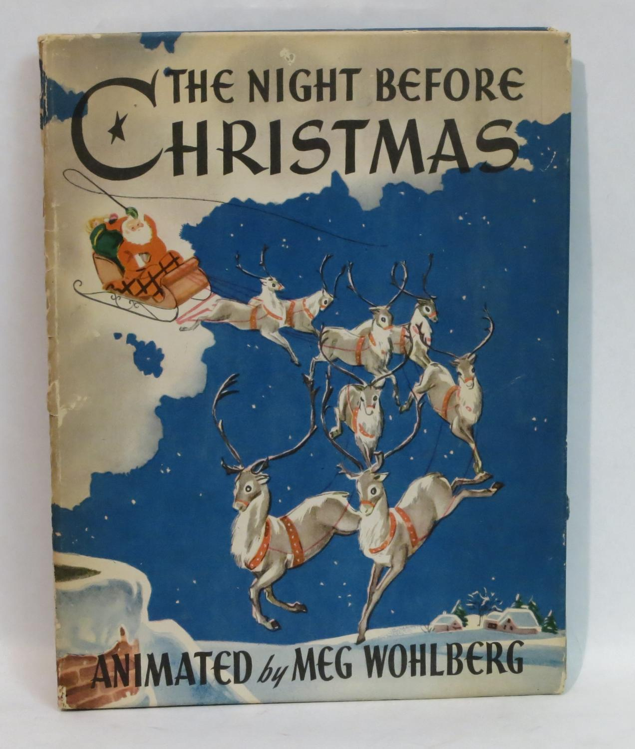 The Night Before Christmas (With Animated and Pop-up Pictures) (1944): Moore, Clement Clark; ...