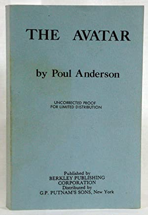 The Avatar (Uncorrected Proof)(Signed) by Anderson, Poul by Anderson, Poul by Anderson, Poul by ...