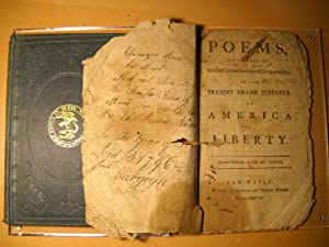 Poems, Occasioned By Several Circumstances and Occurrencies: Case, Wheeler [attributed]