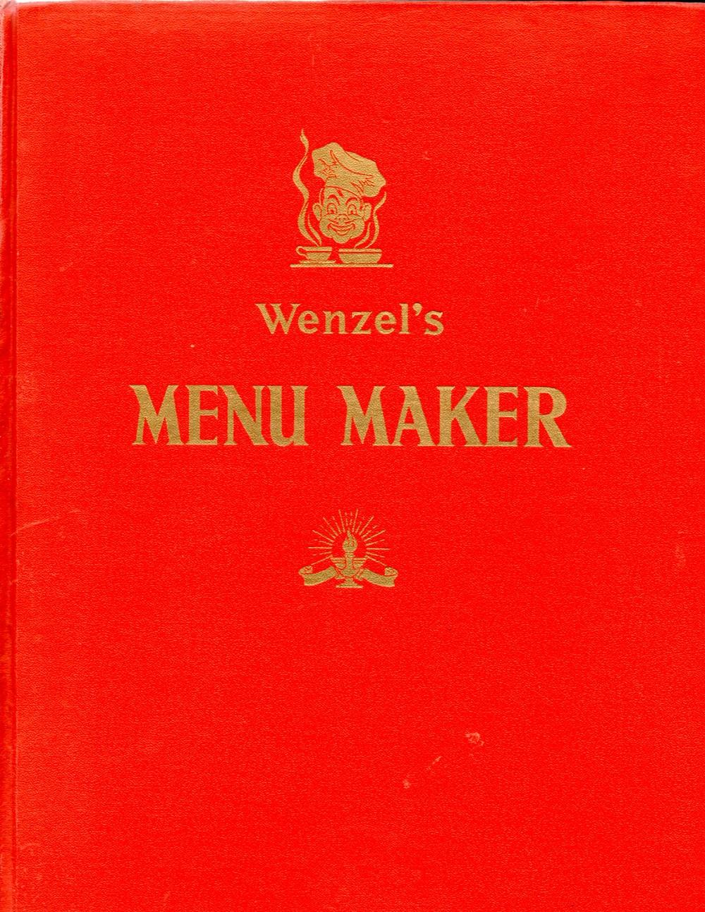 wenzels menu maker
