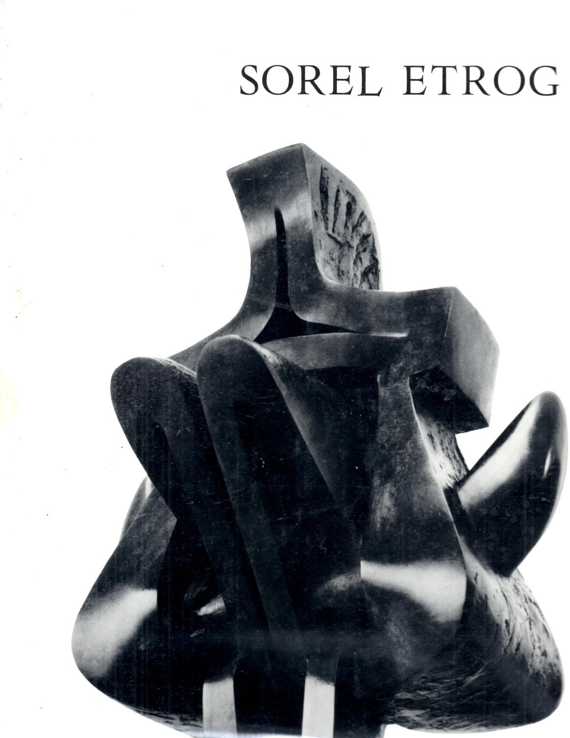 Sorel Etrog Withrow, William J. dj has minor wear and soil with a few small edge tears up to 1/4  and 1  semicircular stain on front by spine, interior tight and clean, unpaginated,