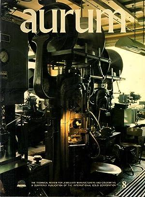 aurum No. 8 1981 English Edition The: Taimsalu, Dr. Parn