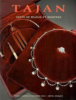 Vente de Bijoux Montres Paris - Lundi: Tajan Staff