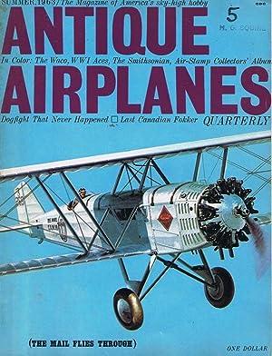 Antique Airplanes Vol. 1, No. 5 (Summer 1963): Helmer, Bill (editor)