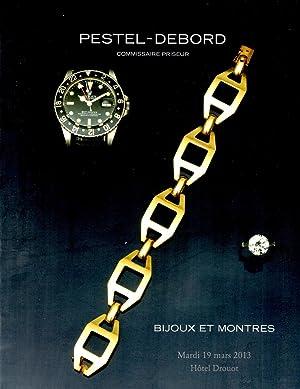 Bijoux et Montres Mardi 19 Mars 2013: Petel-Debord Staff