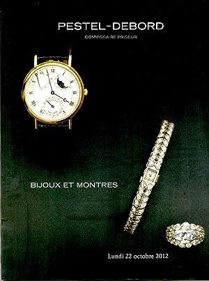 Bijoux et Montres Lundi 22 Octobre 2012: Petel-Debord Staff