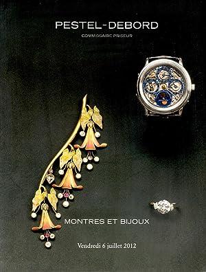 Montres et Bijoux Vendredi 6 Juillet 2012: Petel-Debord Staff