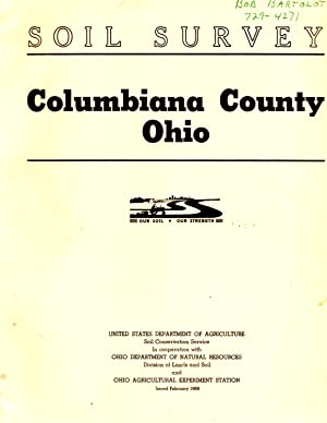 Soil Survey Columbiana County Ohio