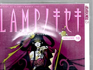 CLAMP no KISEKI - The Exhibition of CLAMP'S Works Vol. 10 (With Three Figures) (in Japanese) (Comic)