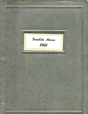Franklin Mirror 1961 Franklin Township School Yearbook Wauseon Franklin County OH: Editor Unknown