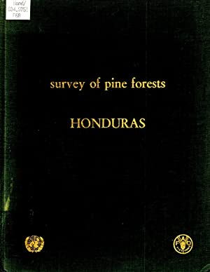 Survey of Pine Forests Honduras