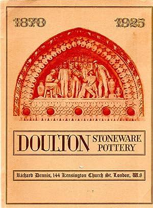 Doulton Stoneware Pottery 1870-1925: Richard Dennis
