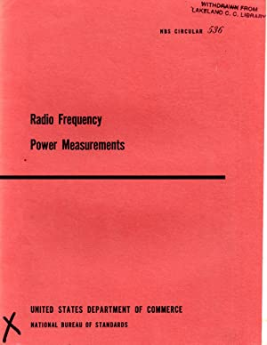 Radio-Frequency Power Measurements: Schrack, Roald A.