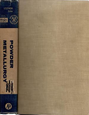 Powder Metallurgy: Leszynski, Werner