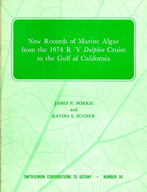 New Records of Marine Algae from the: Norris, James N.