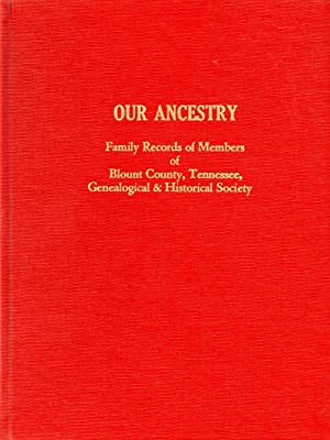 Our Ancestry Family Records of Members of: Thomas, Jane Kizer