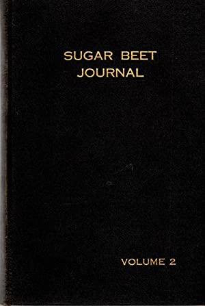 Sugar Beet Journal Volume II October, 1936 - August, 1937