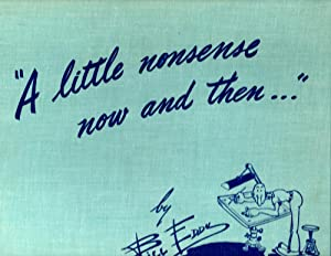 A Little Nonsense Now and Then: Eddy, Bill
