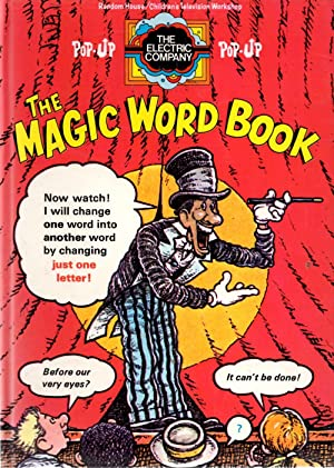 The magic word book, starring Marko the magician!