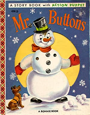 Mr. Buttons A Story Book with Action Puppet