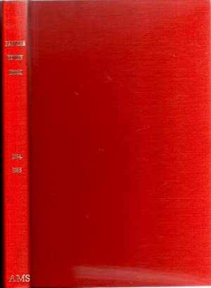 Partisan Review Index Cumulative Compilation 1934-1965 Vols 1-31: Wright, Elizabeth (compiler)