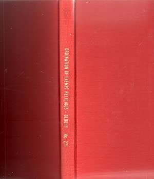 The Ordination of Exempt Religious A History and a Commentary1955: Dlouhy, Maur J.